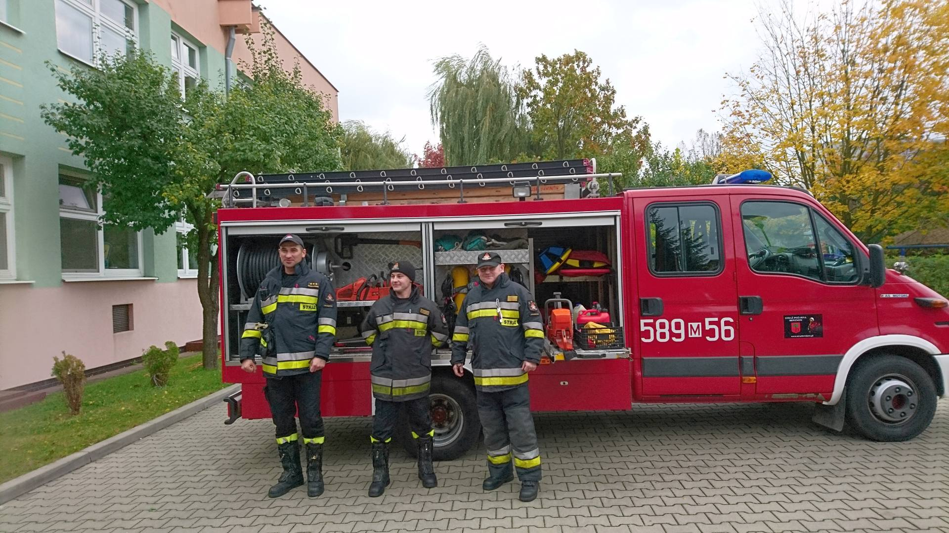 Wizyta strażaków w naszym przedszkolu (7)